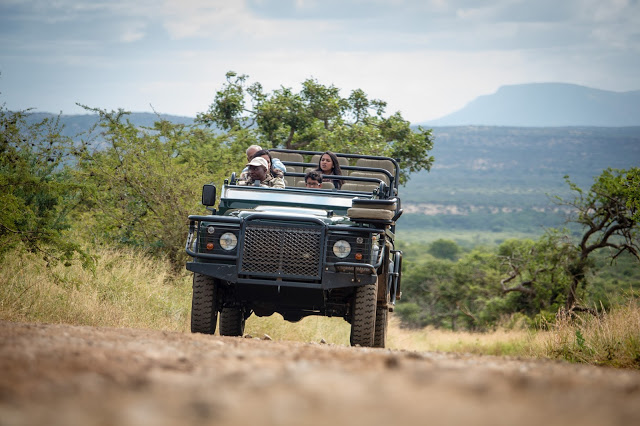 Jeep Safari in South Africa